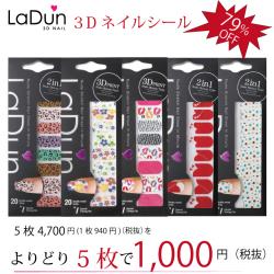 30万突破 LaDun(ラドュン)5枚セット