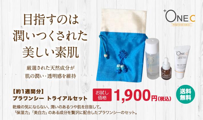 トライアルセット1900円